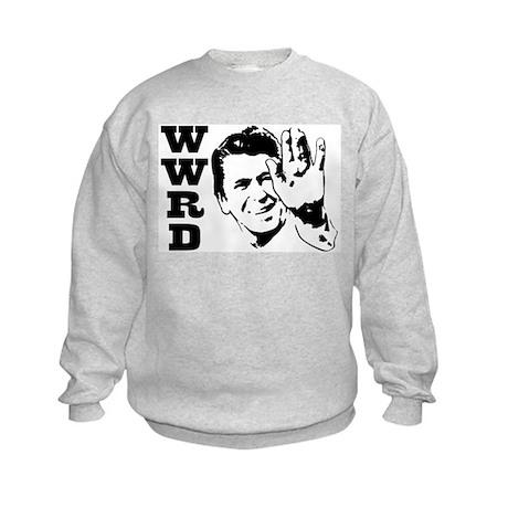 What Would Reagan Do Kids Sweatshirt