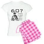 60th Birthday Women's Light Pajamas