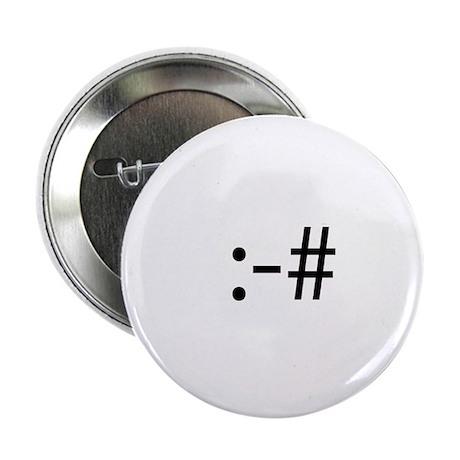 """Braces Smilie 2.25"""" Button (10 pack)"""