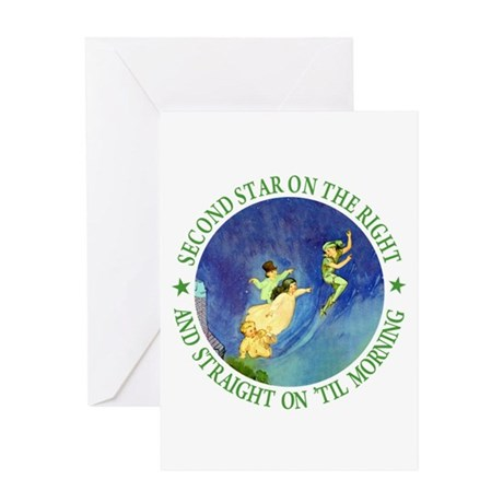 PETER PAN - FAIRY DUST Greeting Card