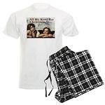 Raphael Christmas Men's Light Pajamas