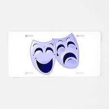 Cute Bi polar Aluminum License Plate