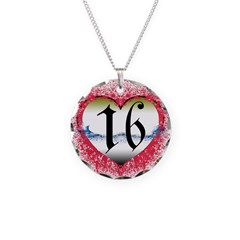 Gothic Heart 16th Necklace
