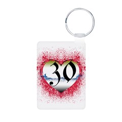 Gothic Heart 30th Gifts! Keychains