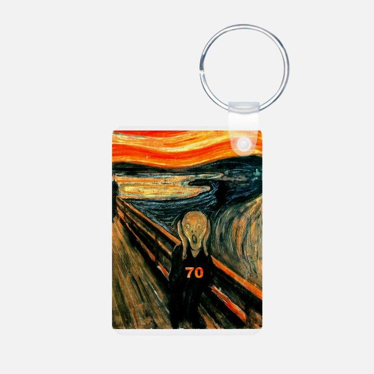 Scream 70th Keychains