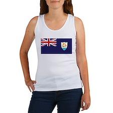 Anguilla Flag Women's Tank Top