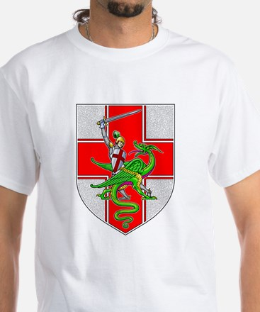 St. George & Dragon White T-Shirt