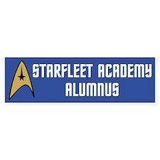 Starfleet Alumnus (blue) Bumper Sticker