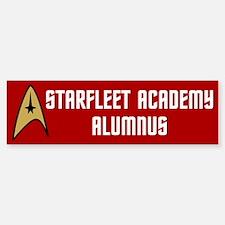 Starfleet Alumnus (red) Bumper Bumper Sticker