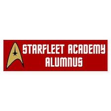 Starfleet Alumnus (red) Bumper Sticker