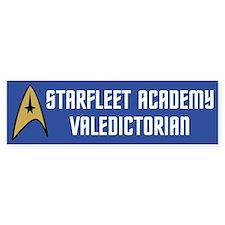 Starfleet Valedictorian (blue) Bumper Sticker