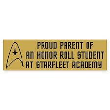 Proud Parent (yellow) Bumper Sticker