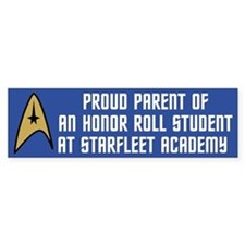 Proud Parent (blue) Car Sticker