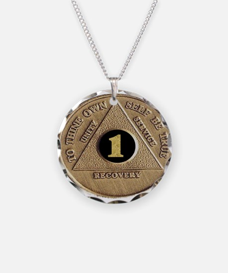 1 YEAR COIN Necklace