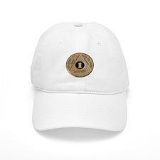 1 YEAR COIN Baseball Cap
