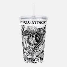 Cthulu Attacks! Acrylic Double-wall Tumbler