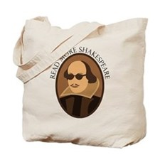 Funny Read Shakespeare Tote Bag