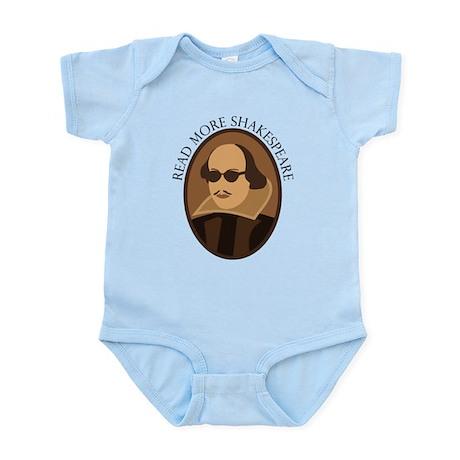 Funny Read Shakespeare Infant Bodysuit