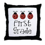 1st Grade Teacher Best Teacher Gift Throw Pillow