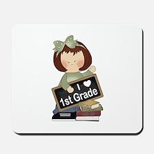 Best Teacher Gift 1st Grade Mousepad