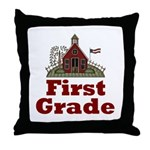 Good Teacher Gifts 1st Grade Throw Pillow