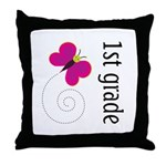 New Teacher Gift 1st Grade Throw Pillow