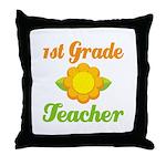 Best Teacher Gifts 1st Grade Teacher Throw Pillow