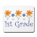 First Grade Teacher Present Mousepad
