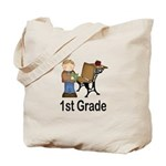 1st Grade Teacher Present Teacher Tote Bag