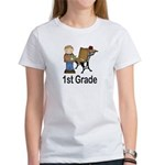 1st Grade Teacher Present Teacher Women's T-Shirt