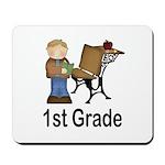 1st Grade Teacher Present Teacher Mousepad