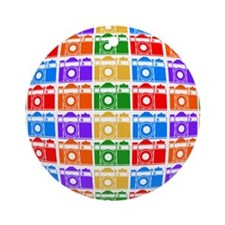 Rainbow SLR FIsheye Ornament (Round)