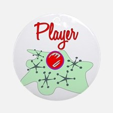 Player Ornament (Round)