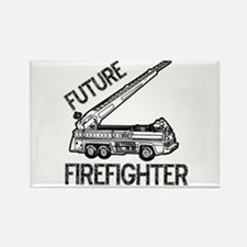 Future Firefighter Rectangle Magnet