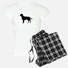 Labrador Retriever Silhouette Pajamas