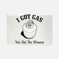 I Got Gas... Rectangle Magnet