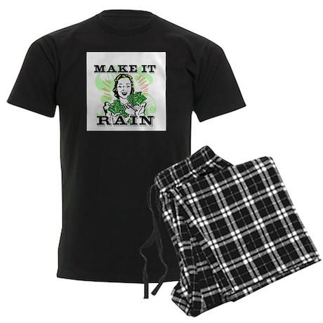Make It Rain Men's Dark Pajamas