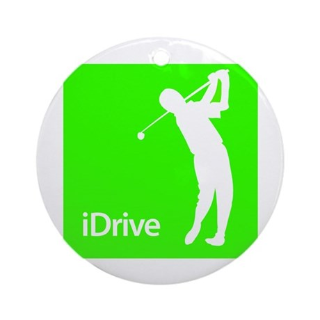 iDrive Ornament (Round)