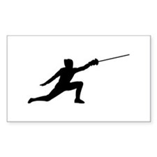 Fencing Lunge Decal
