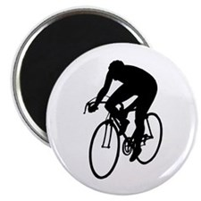 Cycling Silhouette Magnet