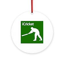 Cricket iCricket Silhouette Ornament (Round)