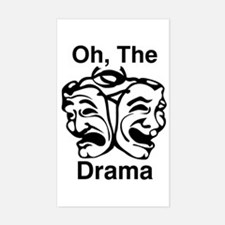 Oh, The Drama Decal