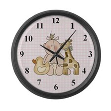 Toys For Baby Large Wall Clock