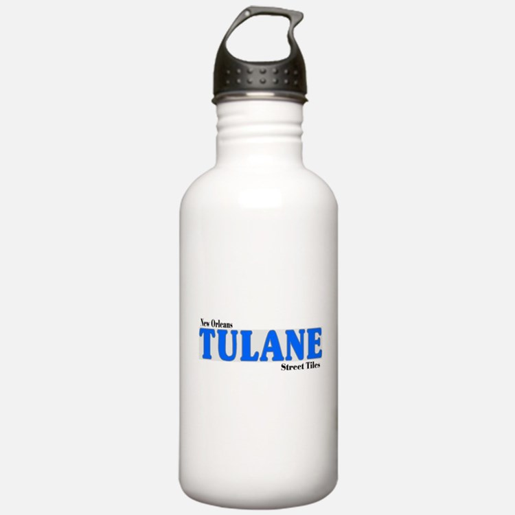 New Orleans Streets Water Bottle