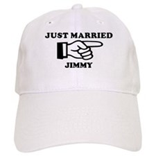 Just Married Jimmy Baseball Cap