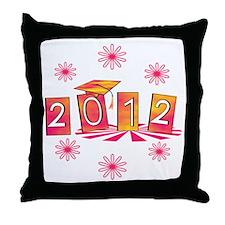 Groovy Senior 2012 Throw Pillow