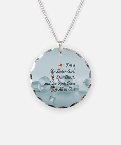 TOP Ice Rink Diva Necklace