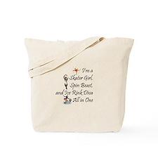 TOP Ice Rink Diva Tote Bag
