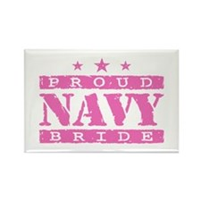 Proud Navy Bride Rectangle Magnet