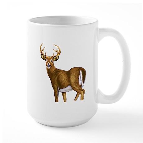 American White Tail Deer Buck Large Mug